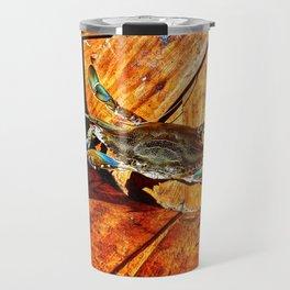 Angry Crab Travel Mug