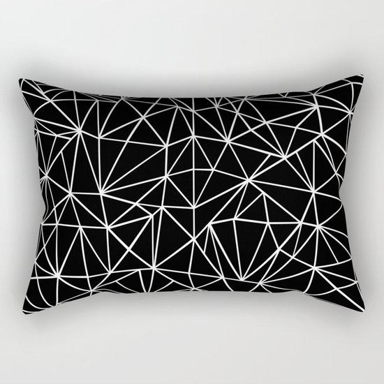About Black Rectangular Pillow