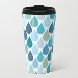 Blue rain Travel Mug