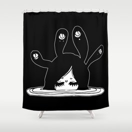 ▴ eyeball ▴ Shower Curtain