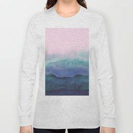 Pastel watercolor gradient (everyday 2/365) Long Sleeve T-shirt