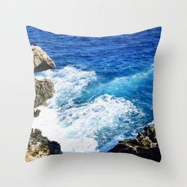 Ocean I Throw Pillow