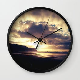 The Sea Gate  Wall Clock
