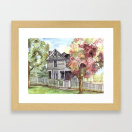 Springtime in the Country Framed Art Print