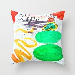 Fin de siglo Throw Pillow