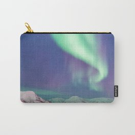 The Arctic Northern Lights Carry-All Pouch