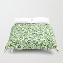 Is This Enough Avocados? - by Rachel Whitehurst Duvet Cover