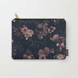Japanese Boho Floral Carry-All Pouch