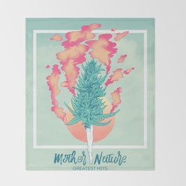 Gift of Mother Nature Throw Blanket