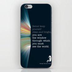 The Window iPhone & iPod Skin