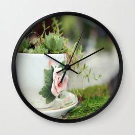 Tea & Cookies Wall Clock
