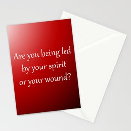 Led By Your Spirit Stationery Cards