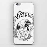 vikings iPhone & iPod Skins featuring Vikings by Christiano Mere
