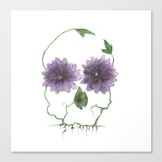 a beautiful warning Canvas Print