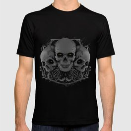 3 Skull T-shirt