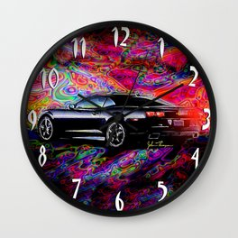 2012 Camaro Wall Clock