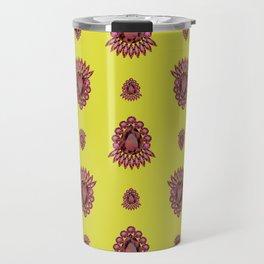 Jewelbox: Ruby Brooch on Citrine Travel Mug