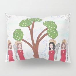 Angels Praying 2 Pillow Sham