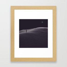 The last remaining light Framed Art Print