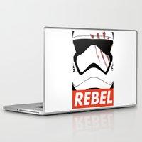 rebel Laptop & iPad Skins featuring REBEL by Bertoni Lee
