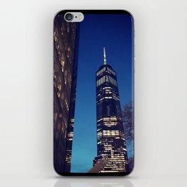 New York City at Dusk iPhone Skin
