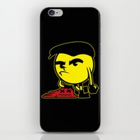 pac man iPhone & iPod Skins featuring Pac-Man by La Manette