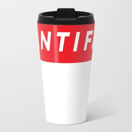 Antifa (supreme style) Travel Mug