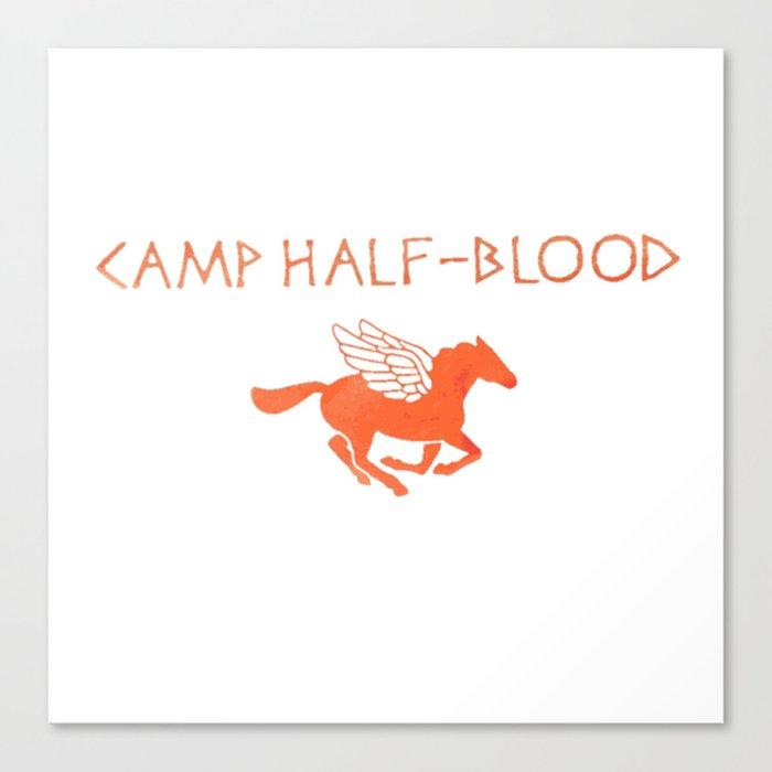 Camp Half Blood Original Canvas Print By Fandomshirtsph Society6