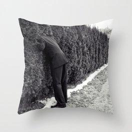 Escape of the Grey Man Throw Pillow