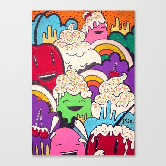 cherry I Canvas Print