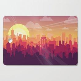 Brooklyn Sunset Cutting Board