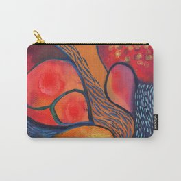 Dance in Orange Carry-All Pouch