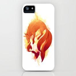 Fire Fox iPhone Case