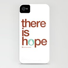 there is hope - blood:water mission  iPhone (4, 4s) Slim Case