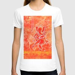 Nritya Ganesha dancing god T-shirt