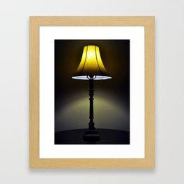 I LOVE LAMP! Framed Art Print
