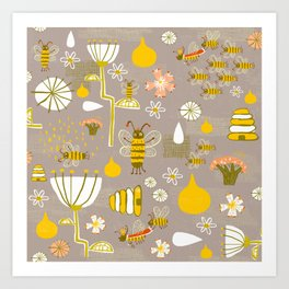 What's the buzz Art Print