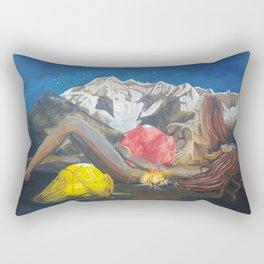 Childbirth camp Rectangular Pillow