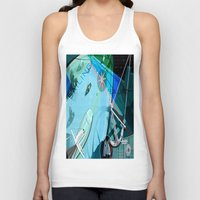 sailing Tank Tops featuring Sailing by Robin Curtiss