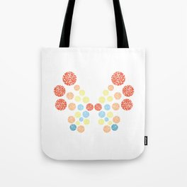 Vivillon Ocean Form Tote Bag