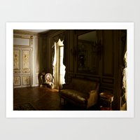 baroque Art Prints featuring Baroque by Emily Caldwell