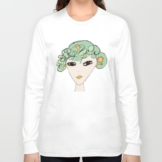 A face Long Sleeve T-shirt
