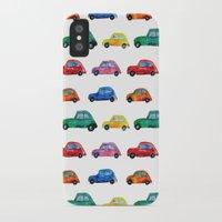 italian iPhone & iPod Cases featuring Italian cars  by Katerina Izotova Art Lab