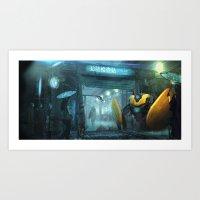 Checkpoint Art Print