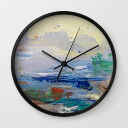 One breezy morning Wall Clock