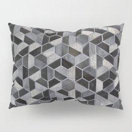 Dark Honeycomb Pillow Sham