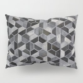 Dark Honeycomb Pillow Sham