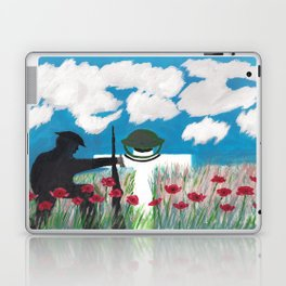 What does war achieve? Laptop & iPad Skin
