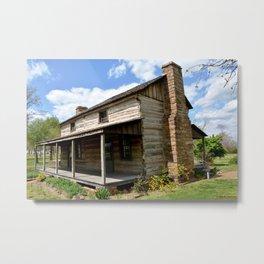 Prairie Grove Battlefield - The Latta Homestead, Established in 1834, No. 1 of 5 Metal Print