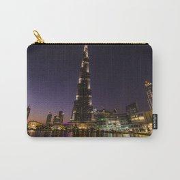 Burj khalifa at night Carry-All Pouch